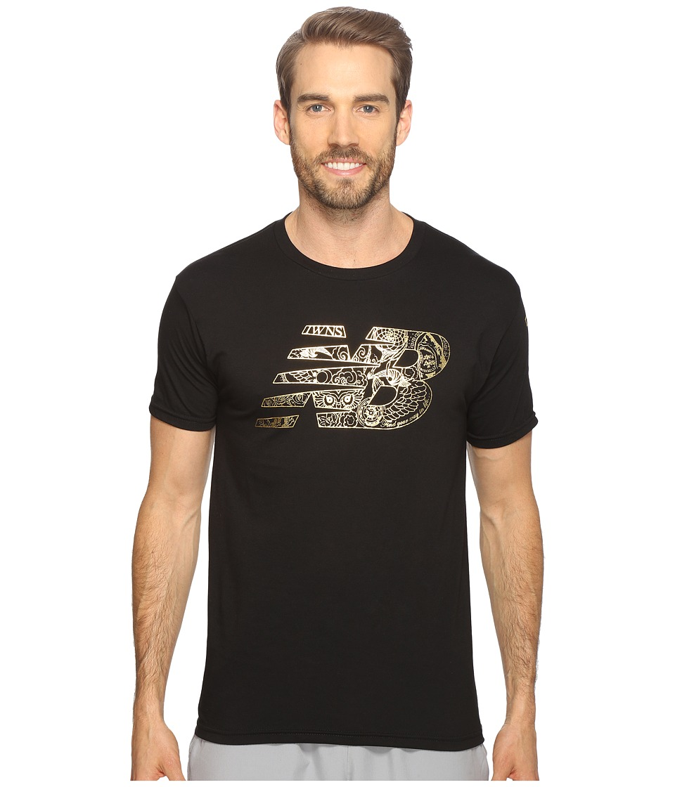 New Balance - Pride and Glory Tee (Black) Men's T Shirt