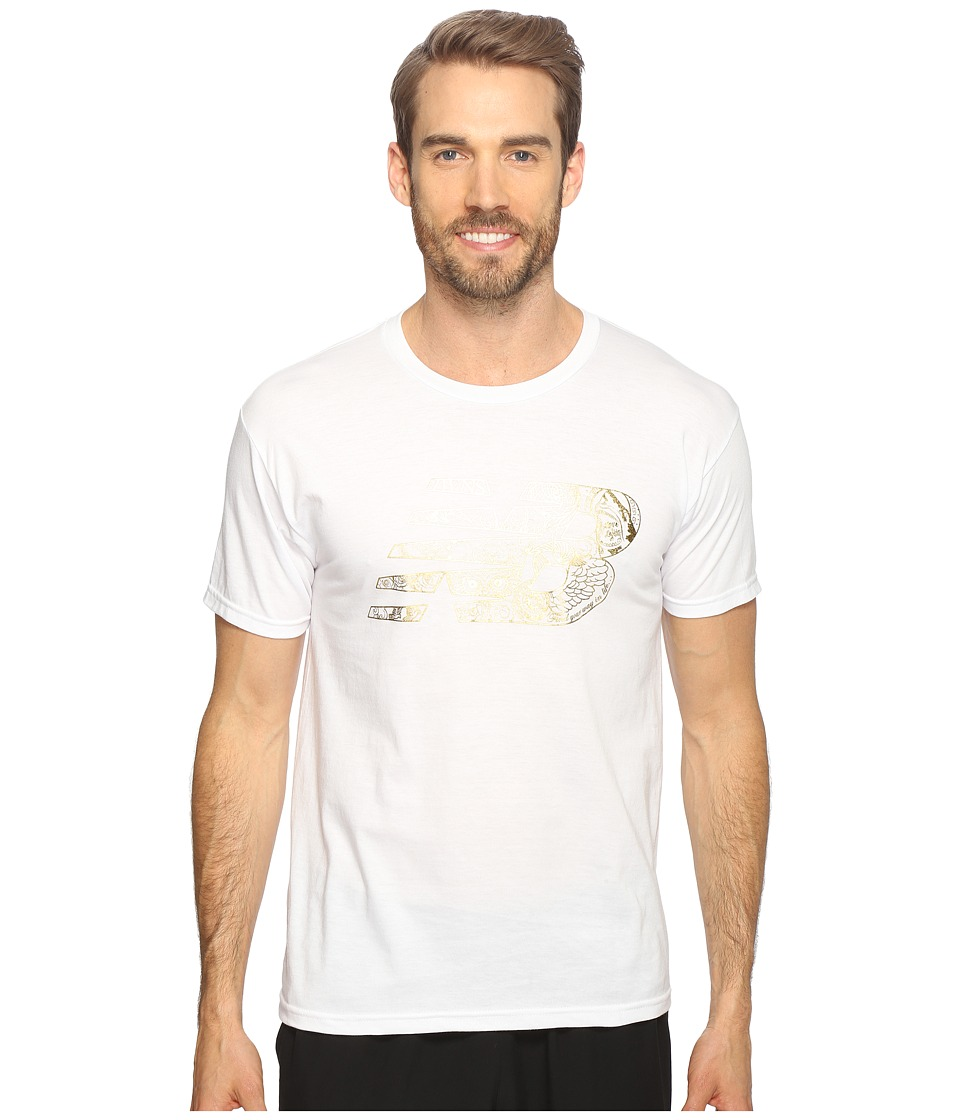 New Balance - Pride and Glory Tee (White) Men's T Shirt