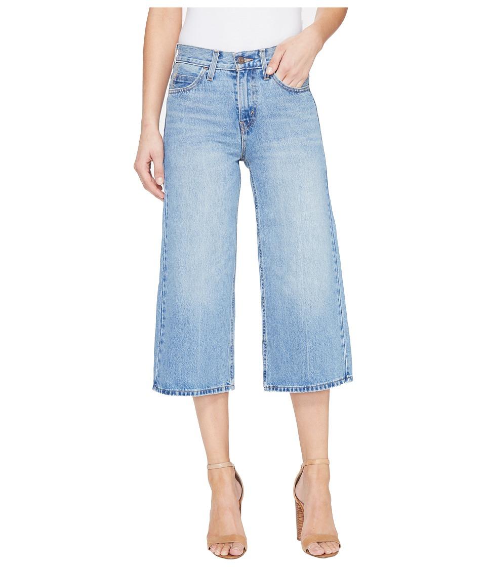 Levi's(r) Womens - The Culotte (Indigo Road) Women's Clothing