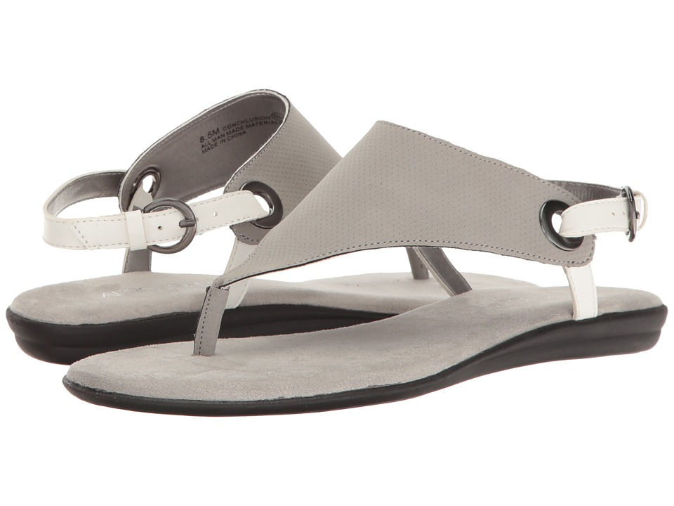 Aerosoles - Conchlusion (Light Grey Combo) Women's Sandals