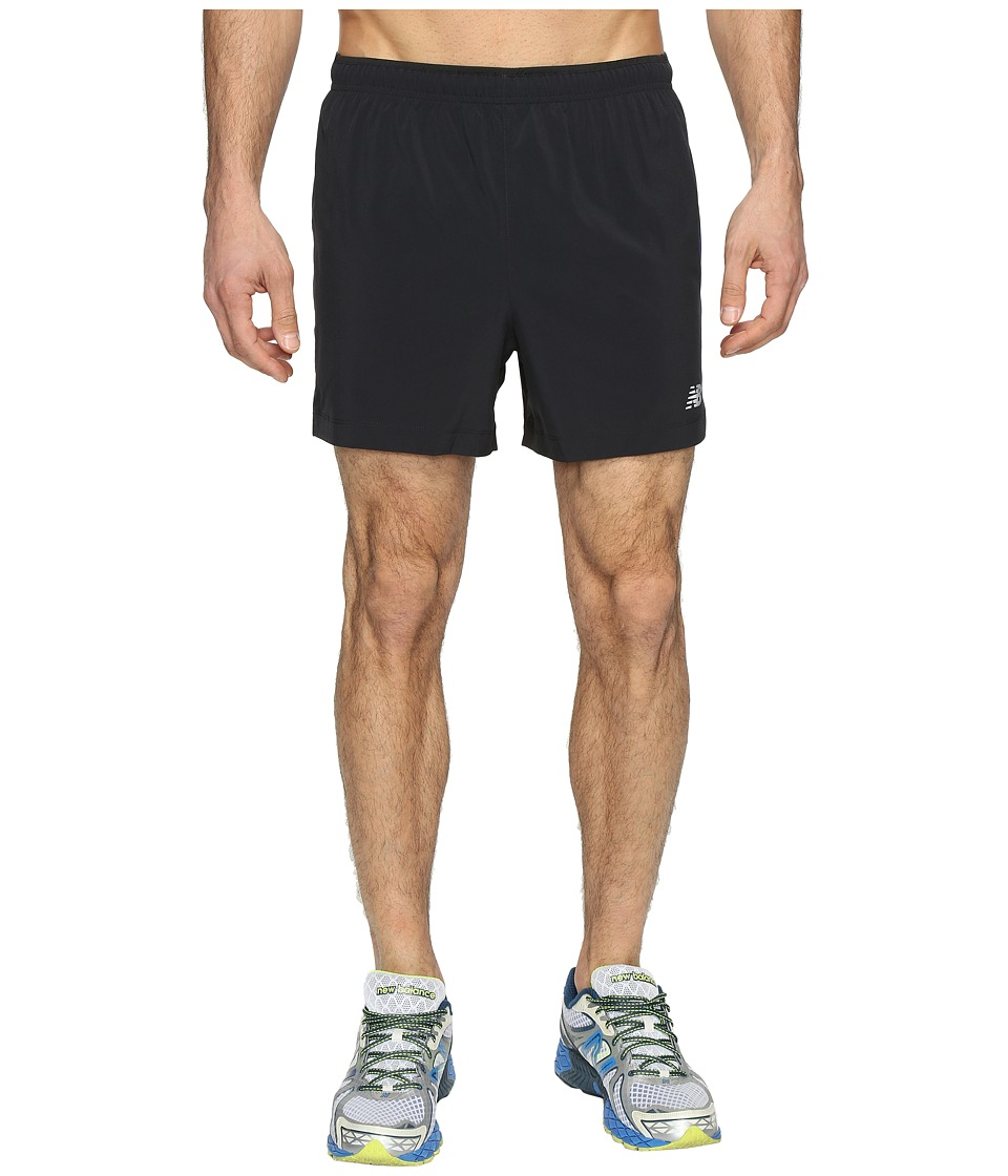 New Balance - Impact Track Shorts (Black Multi) Men's Shorts