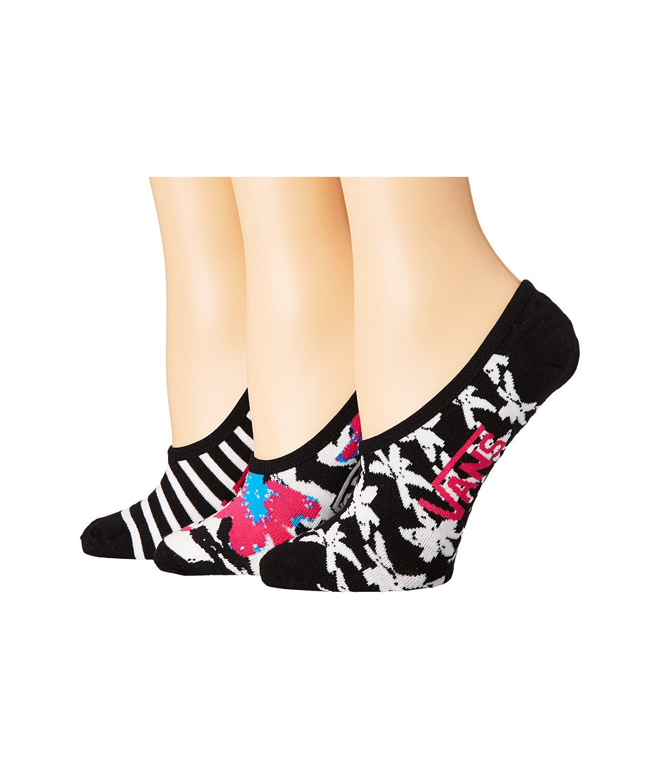 Vans - Goodnight Garden Canoodles 3-Pair Pack (Multi) Women's Crew Cut Socks Shoes