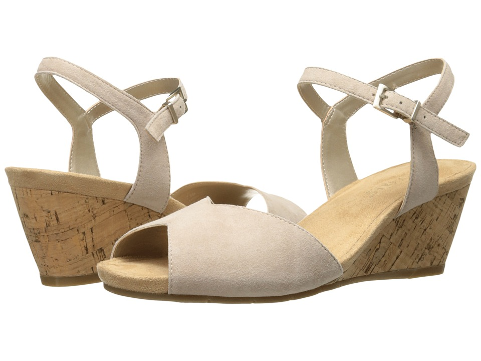 Aerosoles - Cupcake (Bone Suede) Women's Wedge Shoes