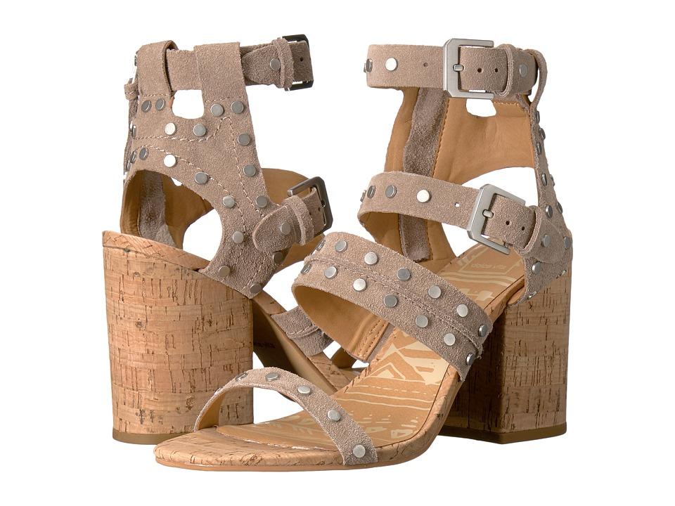 Dolce Vita - Effie (Taupe Suede) Women's Sandals