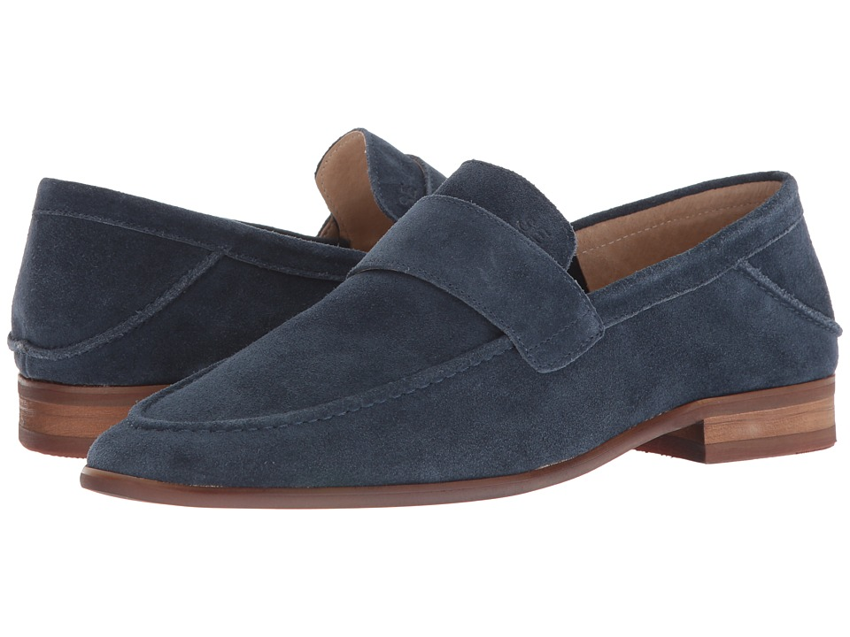 Sam Edelman Ethan (Navy Cow Suede Leather) Men's Shoes