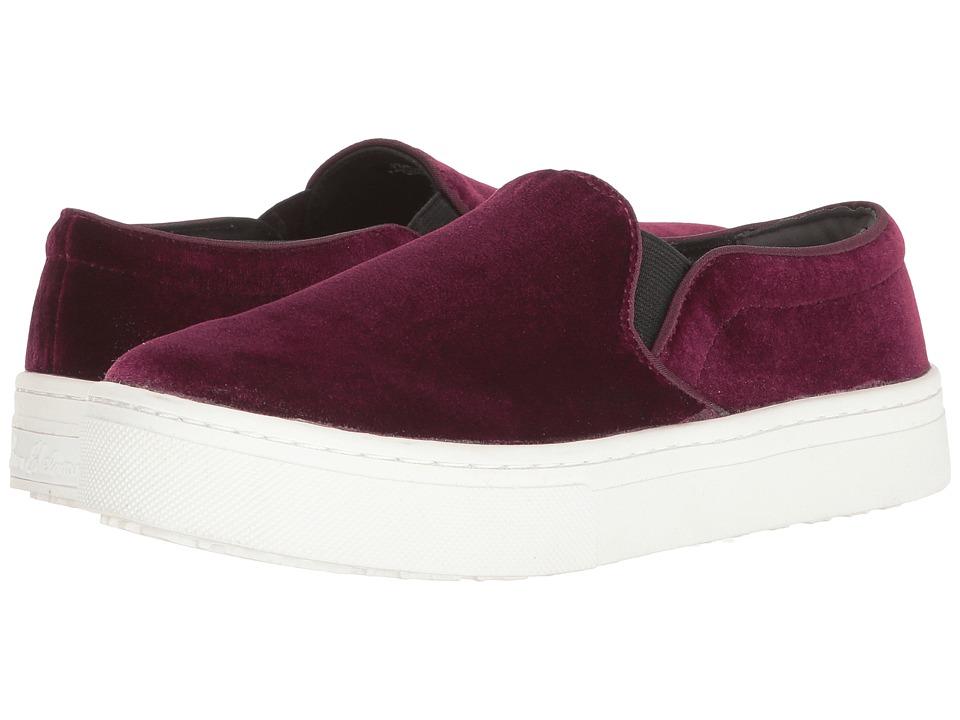 Sam Edelman - Lacey (Burgundy Velvet) Women's Slip on Shoes