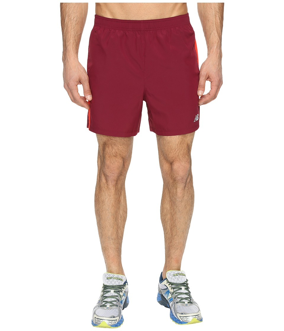New Balance - Accelerate Shorts (Sedona Red) Men's Shorts