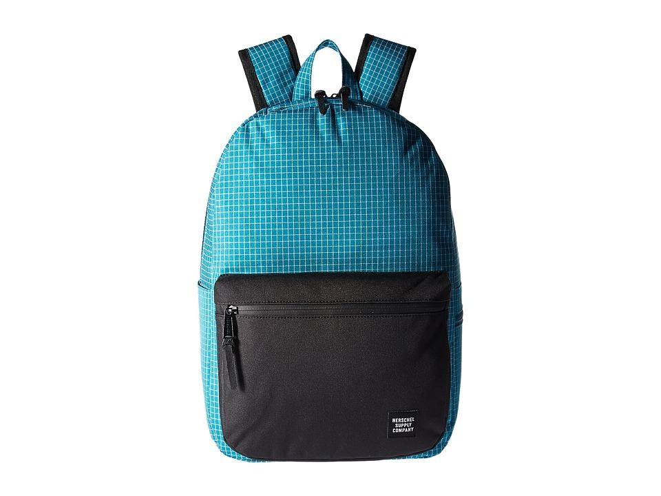 Herschel Supply Co. Harrison (Ocean Depths Grid) Backpack Bags