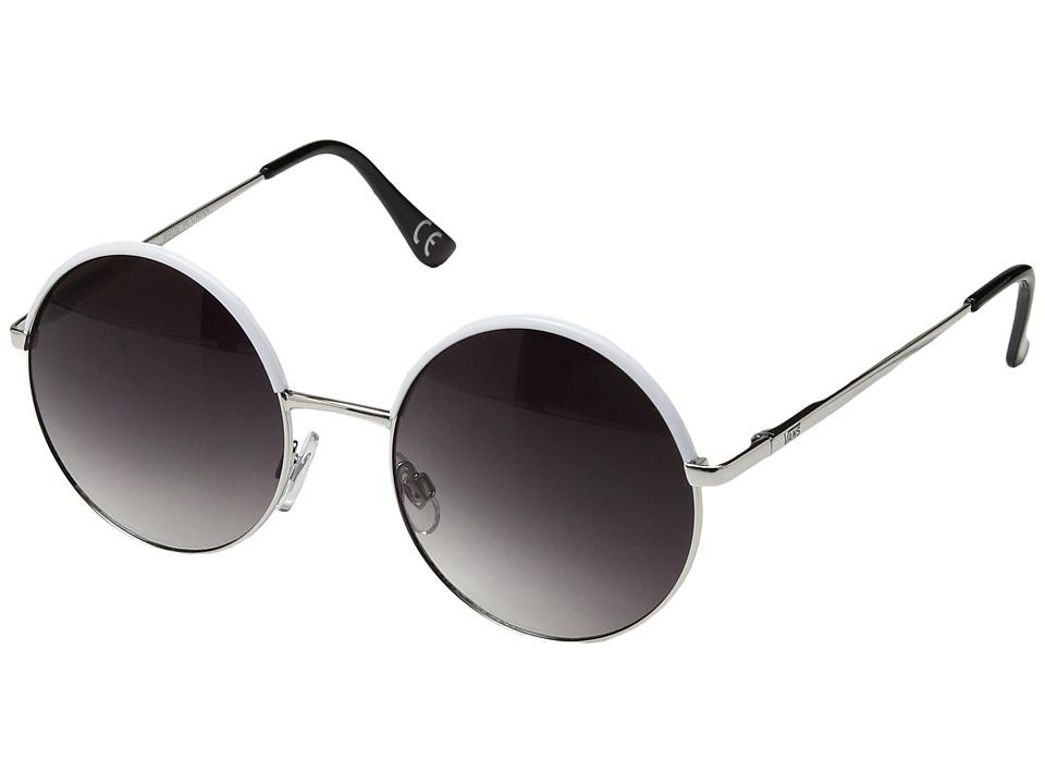 Vans - Circle of Life Sunglasses (White) Fashion Sunglasses