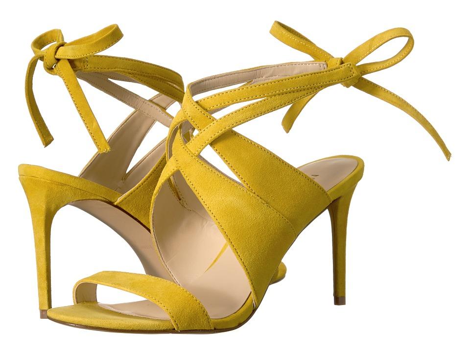 Nine West - Ronnie (Yellow Suede) High Heels