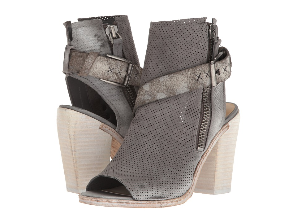 Dolce Vita - North (Smoke Perforated Nubuck) Women's Dress Sandals