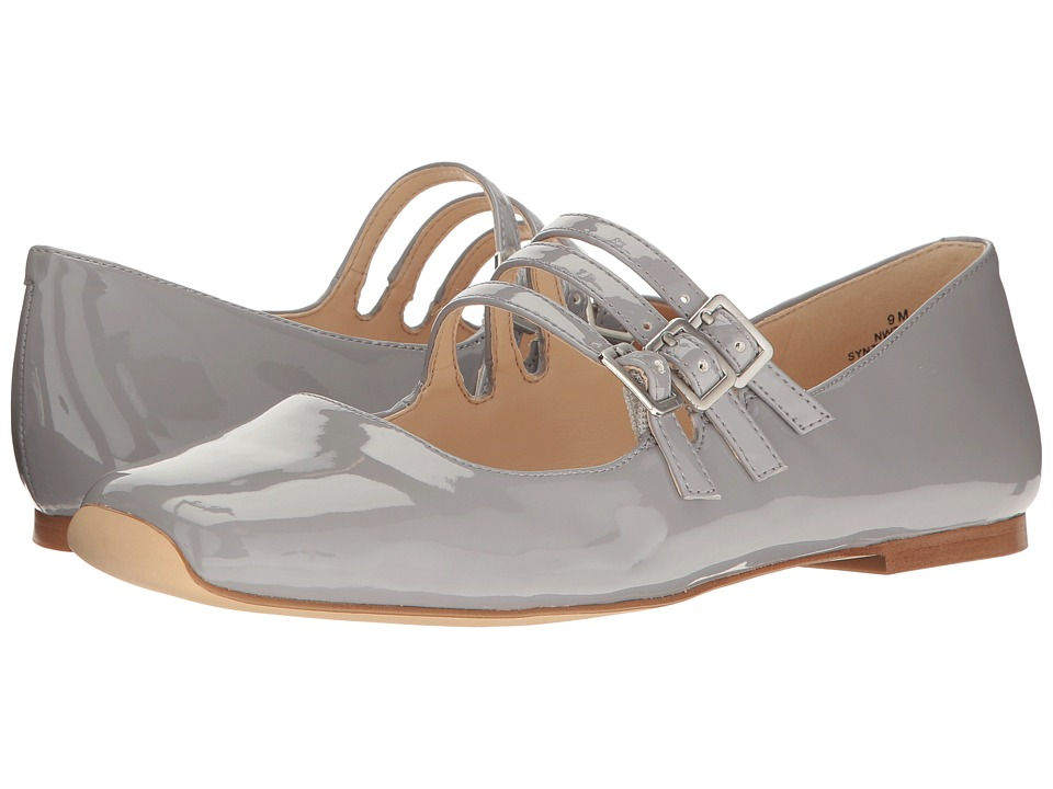 Nine West - Zeno (Grey Synthetic Patent) Women's Shoes