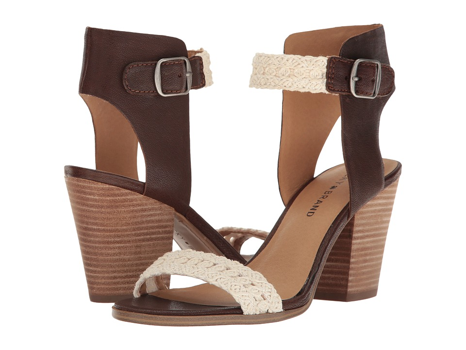 Lucky Brand - Oakes (Toffee/Natural) Women's Shoes