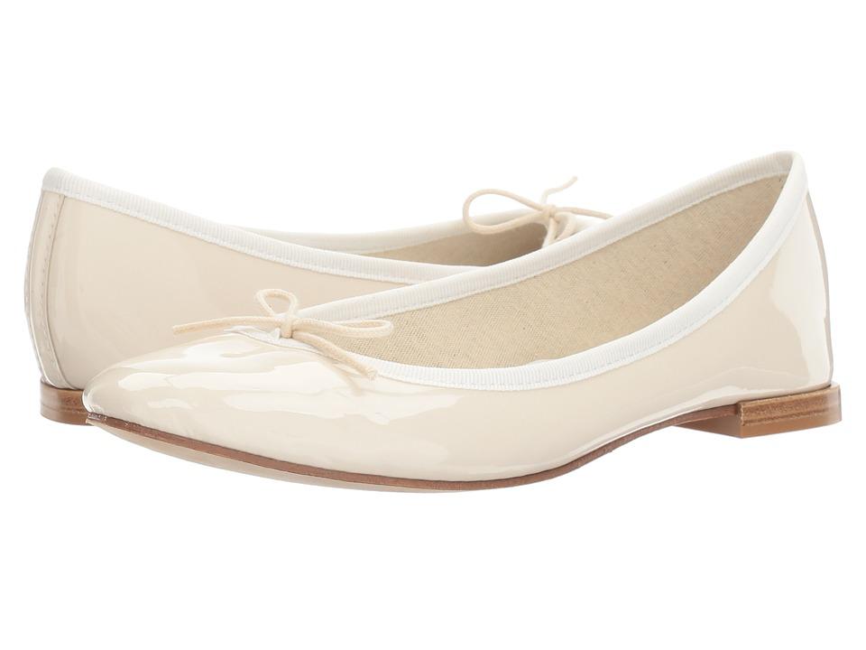 Repetto - Cendrillon (Coco (Off-White Patent Leather)) Women's Flat Shoes