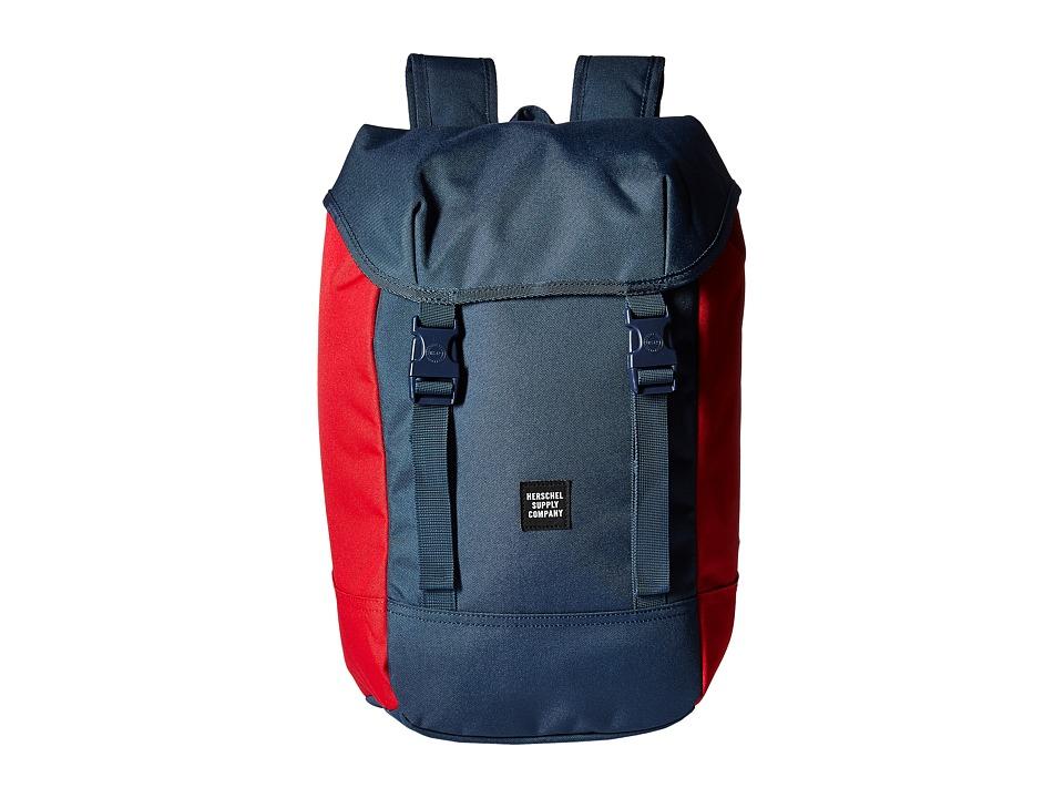 Herschel Supply Co. Iona (Navy/Red 1) Backpack Bags
