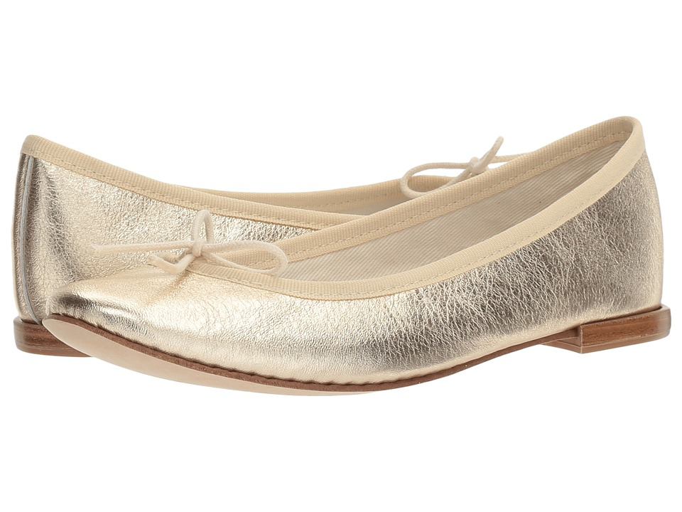 Repetto Cendrillon (Bulle (Light Gold Metallic Leather)) Women