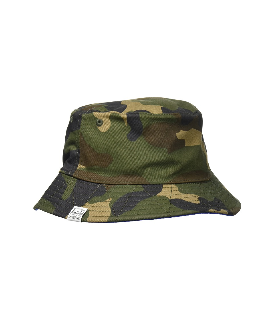 Herschel Supply Co. - Lake Youth (Woodland Camo/Navy/Surf the Web) Caps