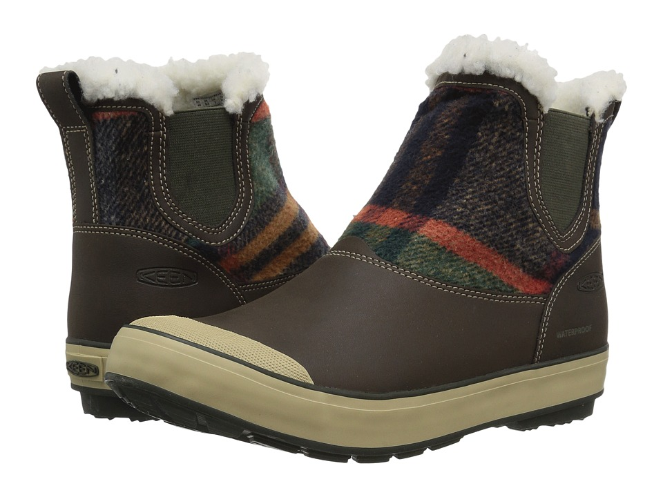 Keen Elsa Chelsea Waterproof (Coffee Bean Wool) Women