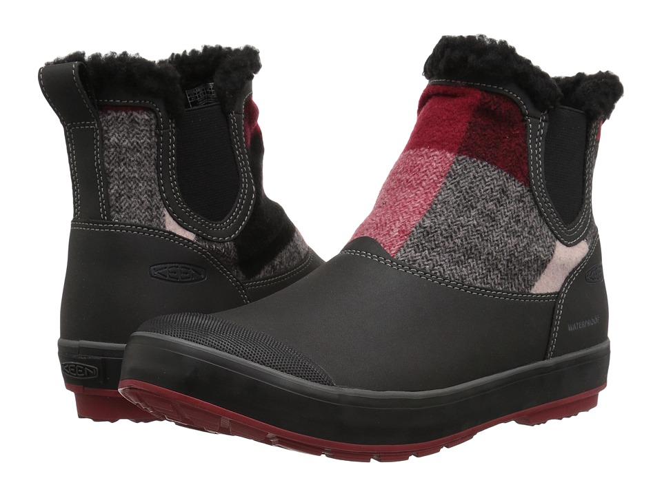 Keen Elsa Chelsea Waterproof (Red Dahlia Wool) Women