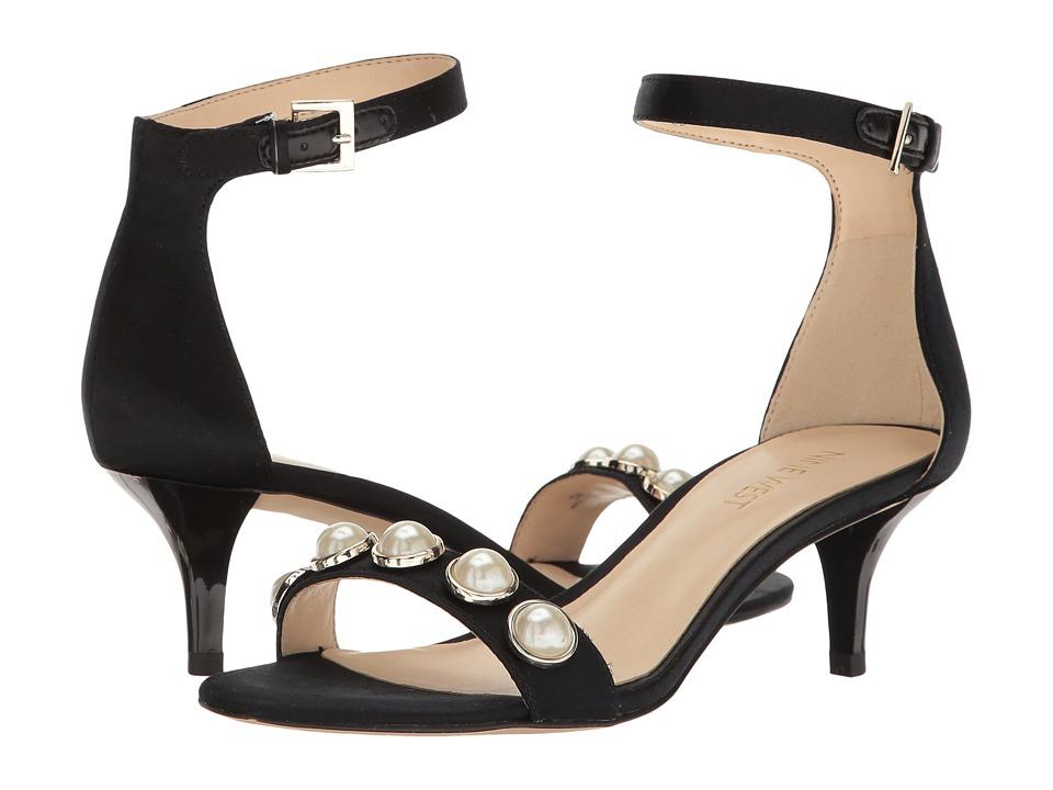 Nine West - Lipstick 7 (Black Satin) Women's Shoes