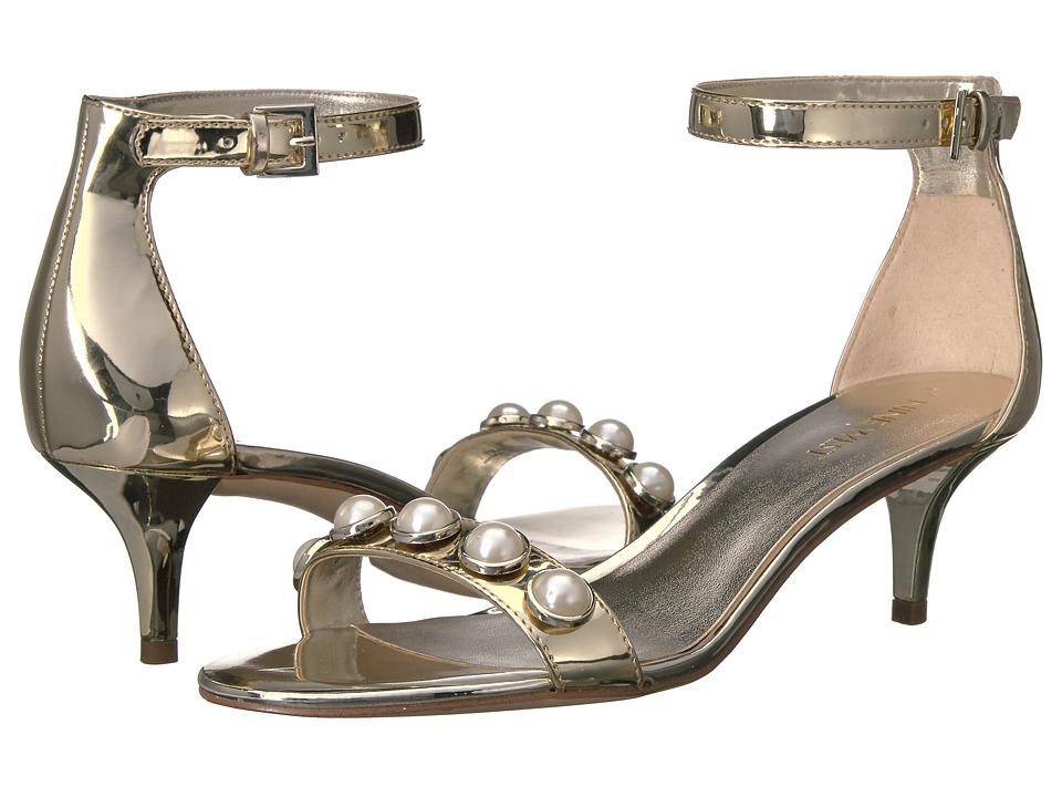 Nine West - Lipstick 3 (Light Gold Synthetic) Women's Shoes
