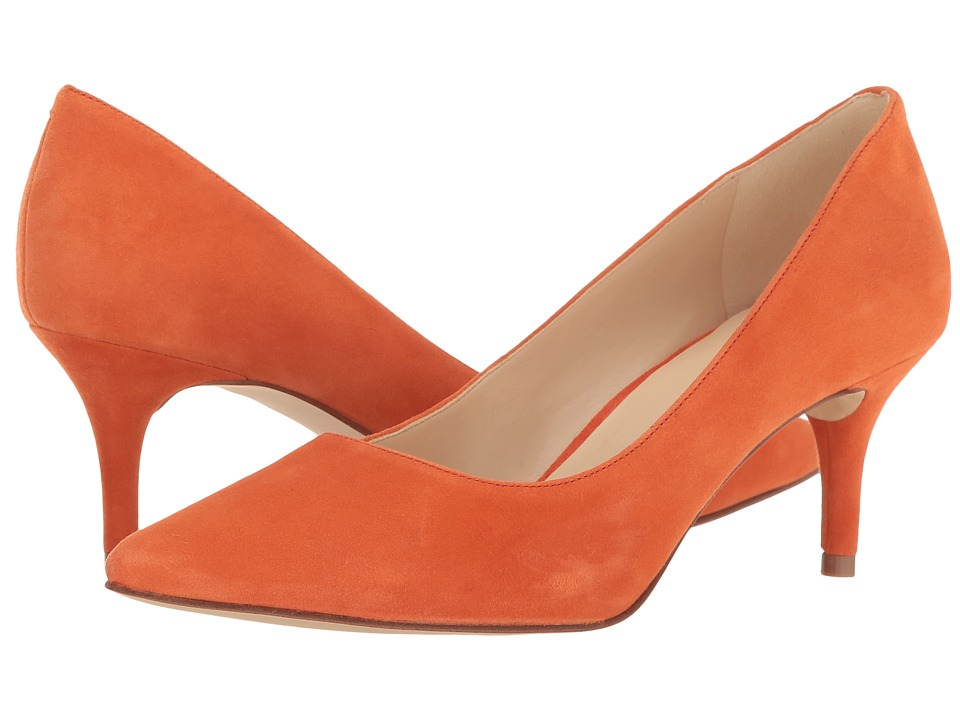 Nine West - Margot (Orange Suede) High Heels