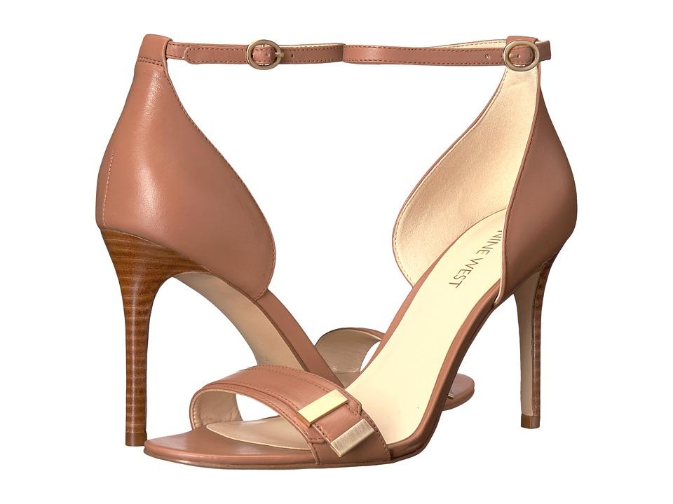 Nine West Matteo (Dark Natural Leather) High Heels