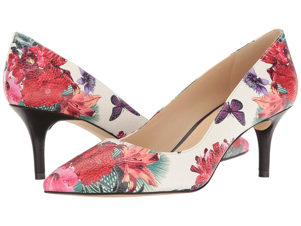 Nine West - Margot (Off-White Multi Synthetic) High Heels
