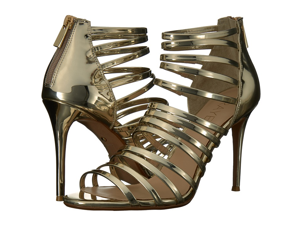 RAYE - Brielle (Gold Mirror) Women's Shoes