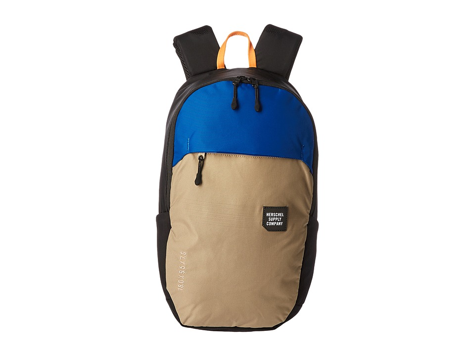 Herschel Supply Co. - Mammoth Medium (Black/Brindle/Surf the Web) Backpack Bags