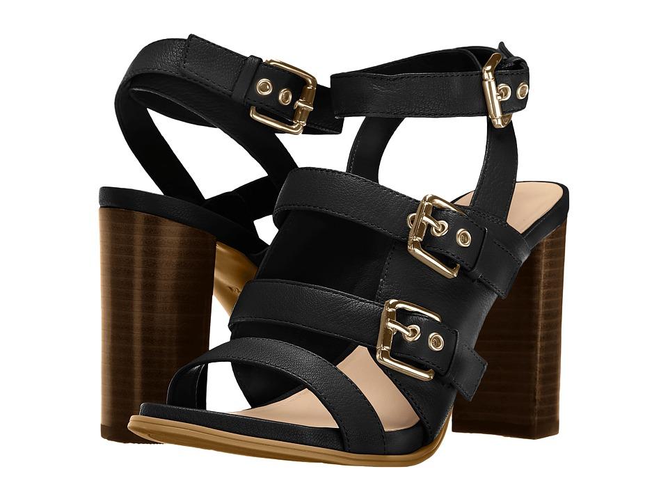Nine West - Pepper (Black Leather) High Heels