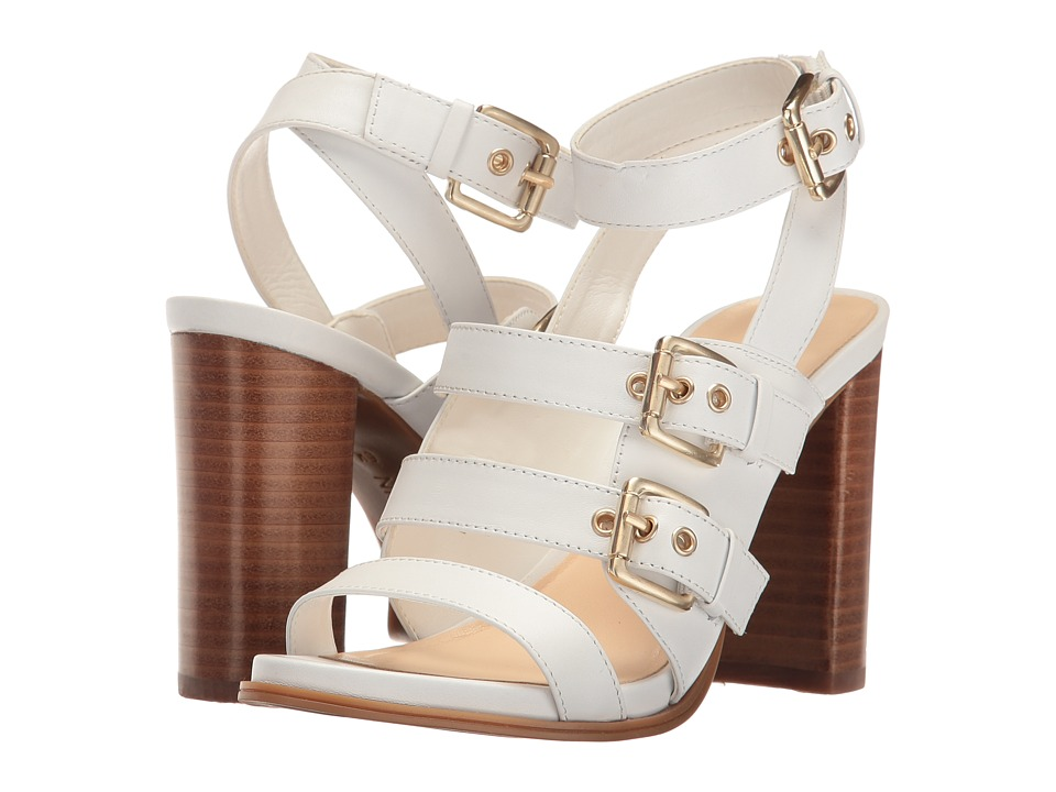 Nine West - Pepper (White Leather) High Heels
