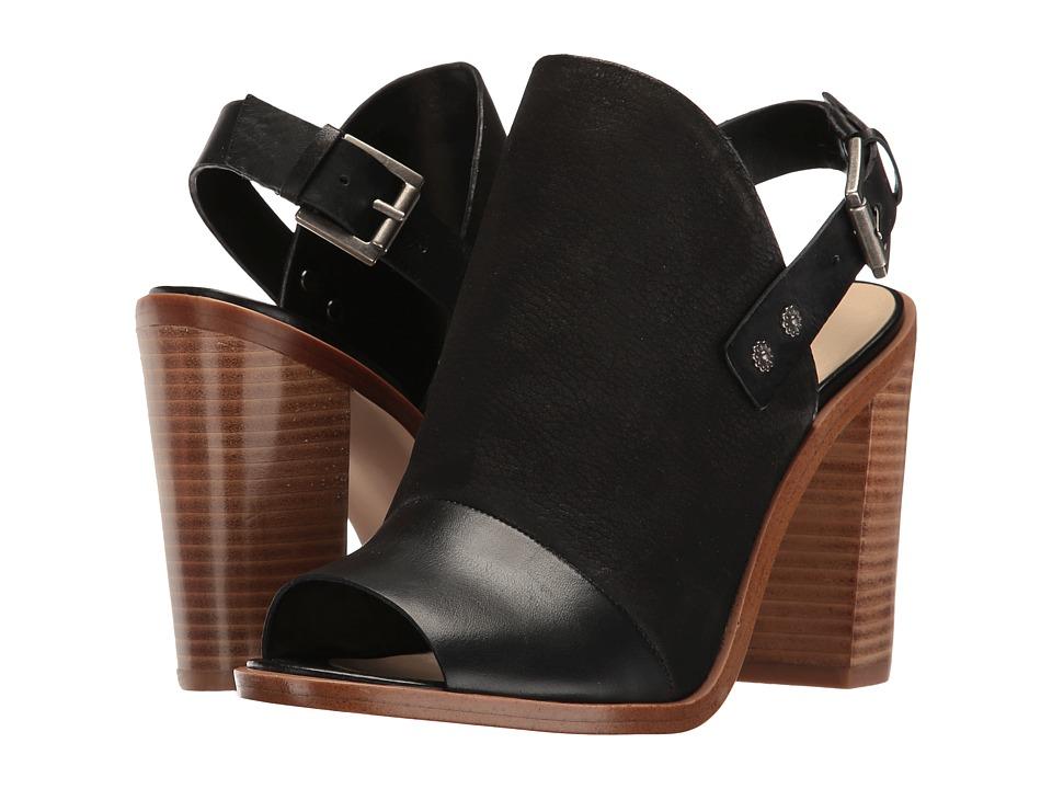 Nine West - Pickens (Black Leather) High Heels