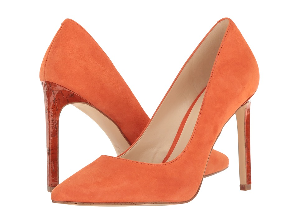 Nine West - Tatiana (Orange Suede) High Heels