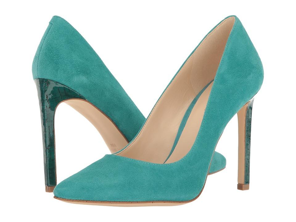Nine West - Tatiana (Dark Turquoise Suede) High Heels