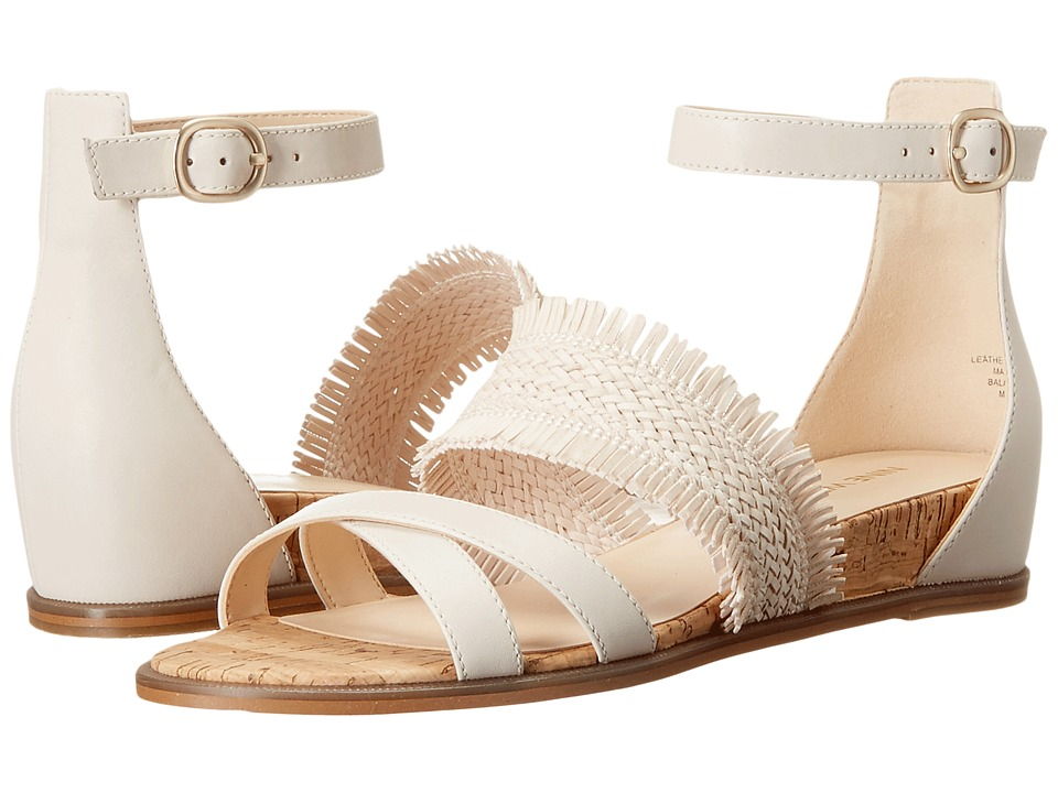Nine West - Vernell (Off-White Leather) Women's Shoes