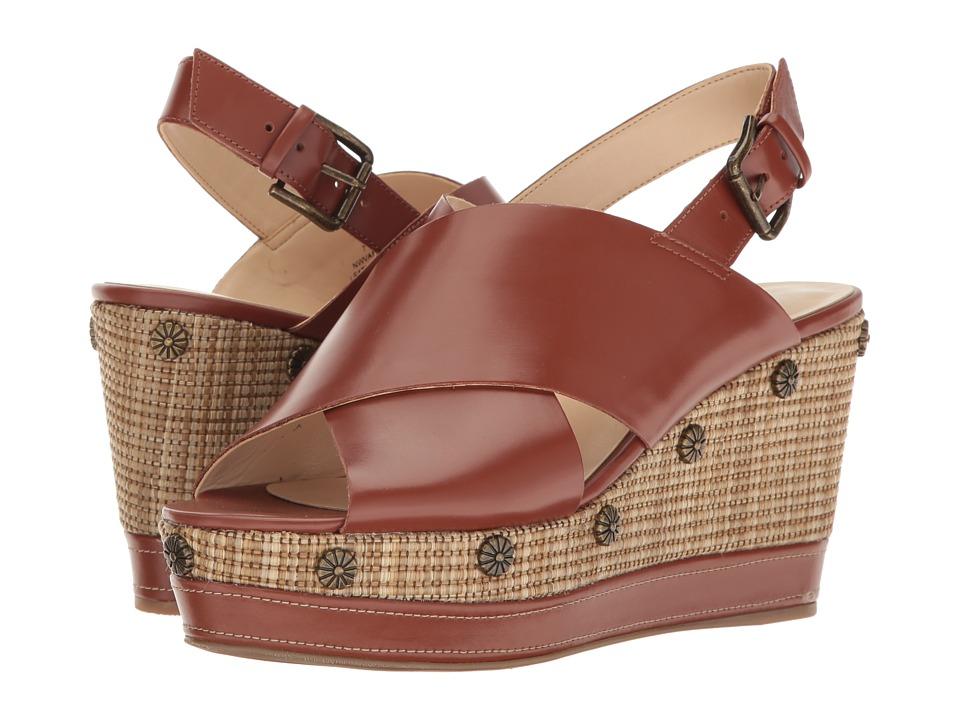 Nine West Vanessa (Cognac Leather) Women