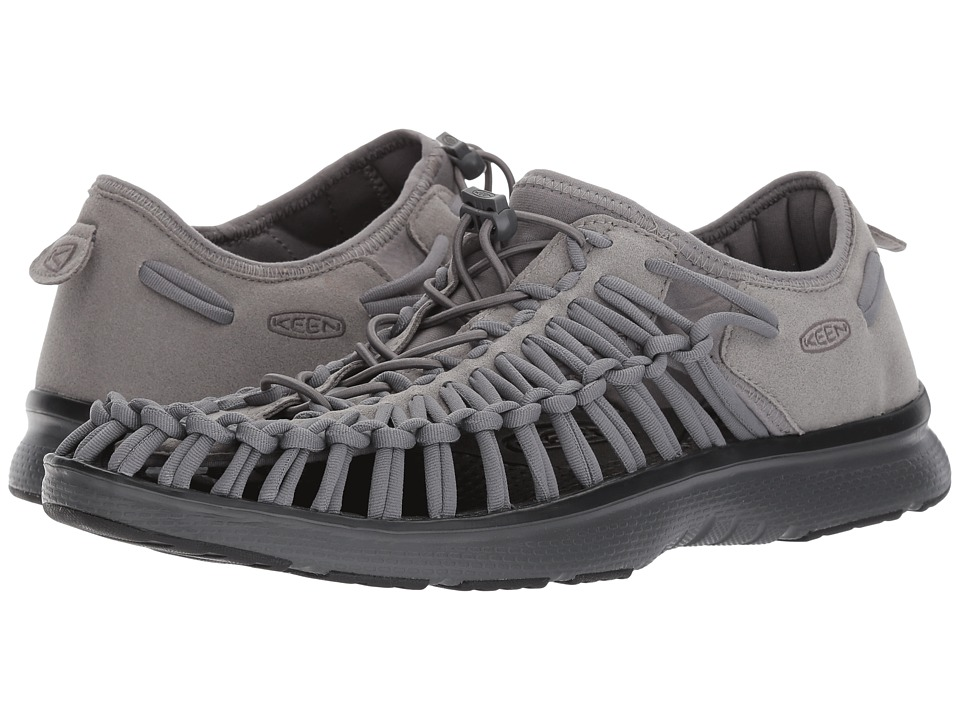 Keen - Uneek O2 (Steel Grey/Black) Men's Shoes