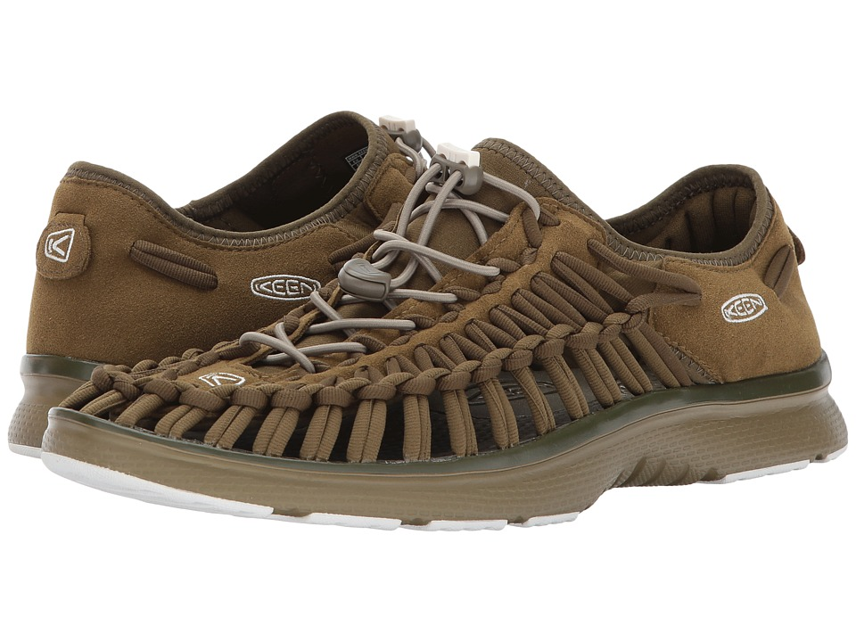 Keen - Uneek O2 (Dark Olive/Fir Green) Men's Shoes