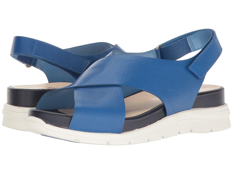 Nine West - Vizara (Blue Leather) Women's Shoes