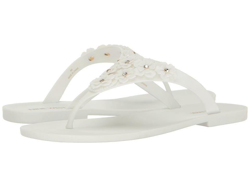 Nine West - Vlora 3 (White Rubber) Women's Shoes