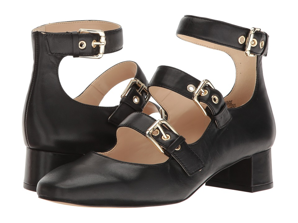 Nine West - Wren (Black Leather) Women's Shoes