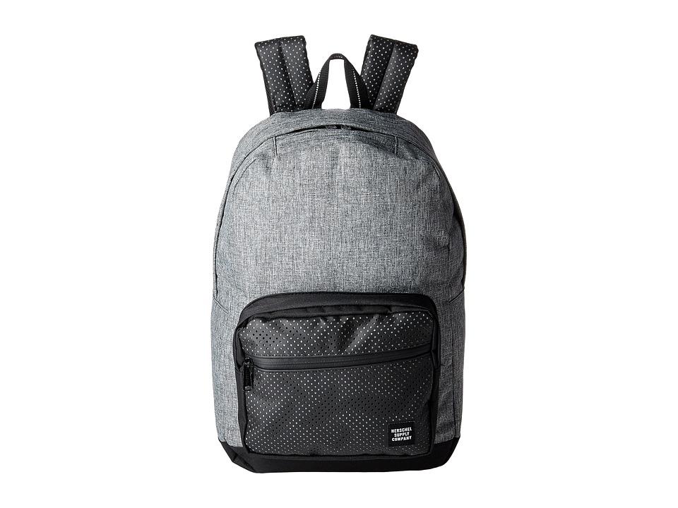 Herschel Supply Co. Pop Quiz (Raven Crosshatch/Black) Backpack Bags