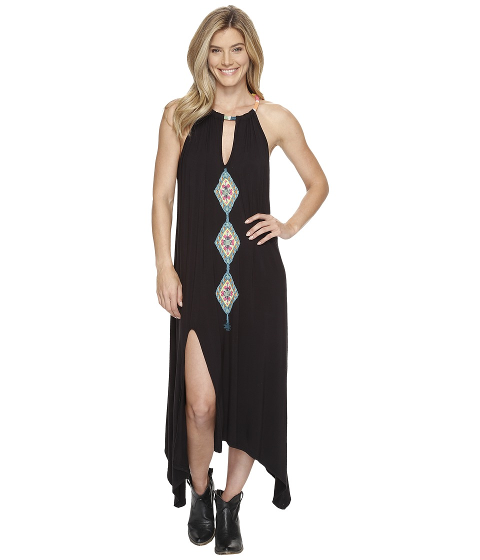 Double D Ranchwear - Glowing Moon Dress (Black) Women's Dress