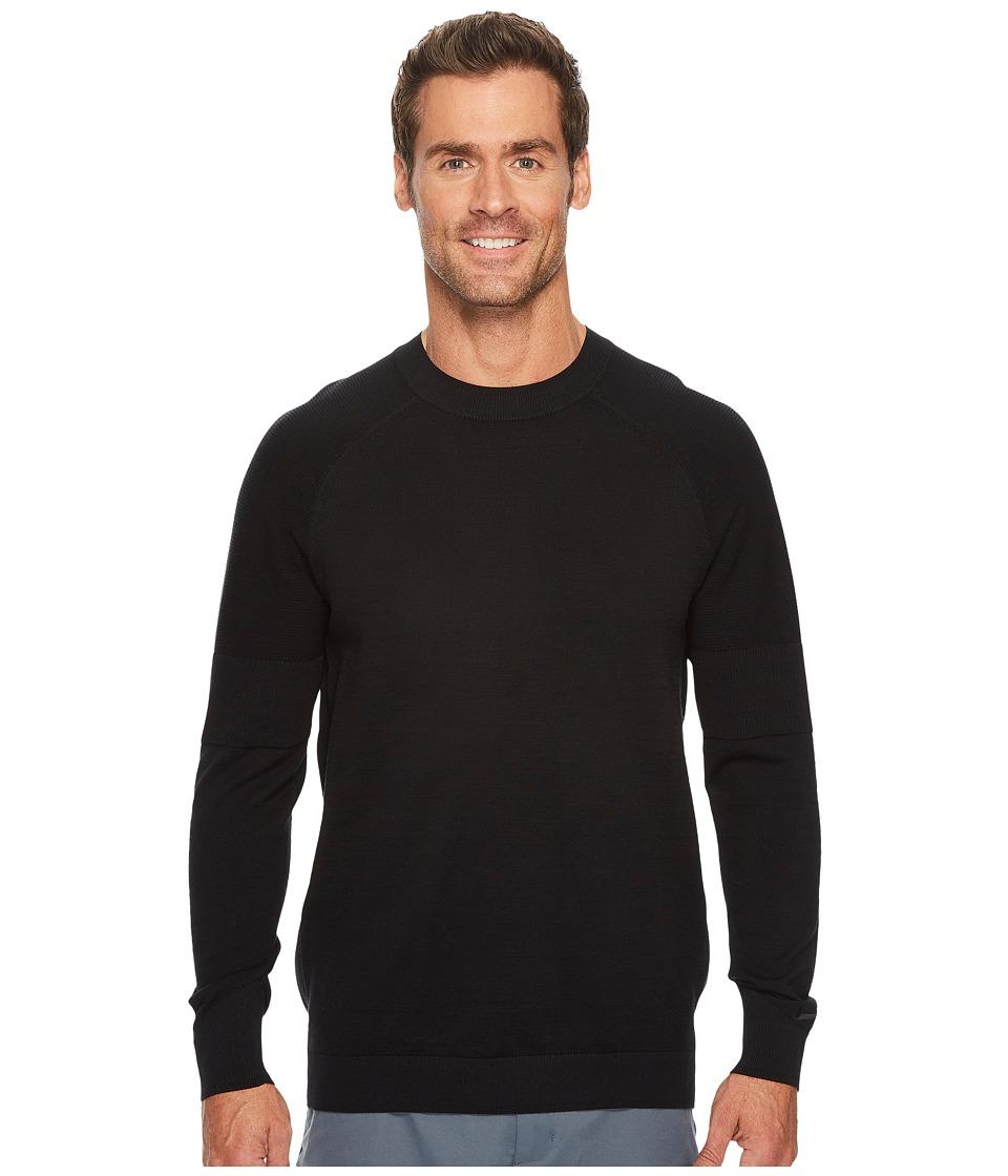 Nike Golf TW Sweater Crew (Black/Wolf Grey) Men
