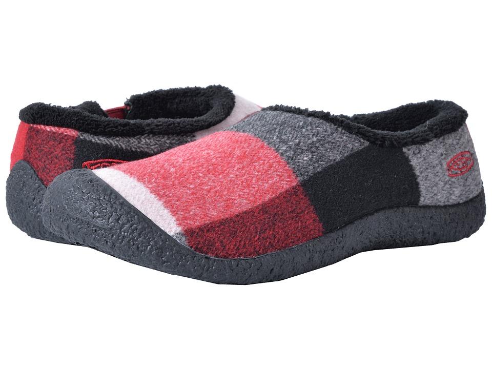 Keen Howser Slide Wool (Red Dahlia Wool) Women