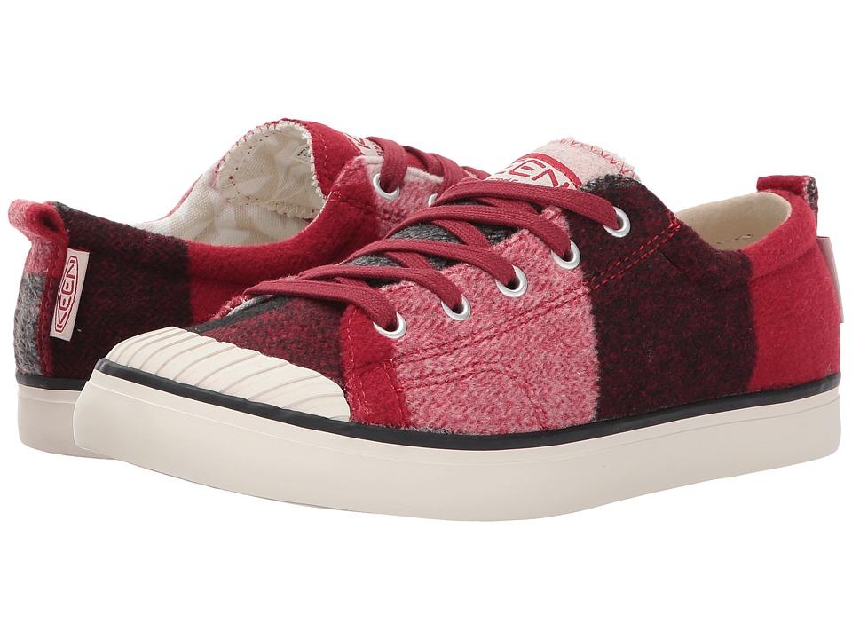 Keen Elsa Sneaker Fleece (Red Dahlia Wool) Women