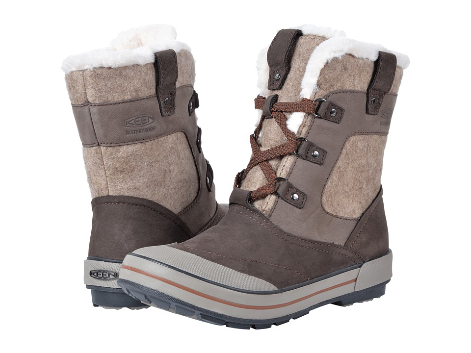 Keen Elsa Premium Mid Waterproof (Espresso/Montana Grape) Women