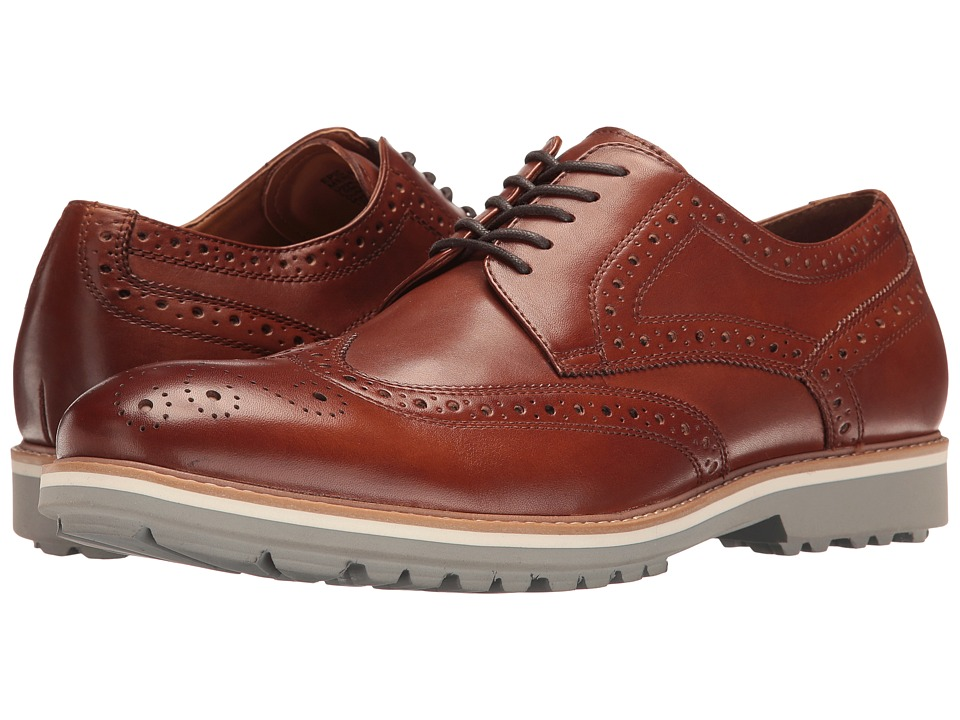Kenneth Cole Reaction - Epic Win (Cognac) Men's Lace up casual Shoes