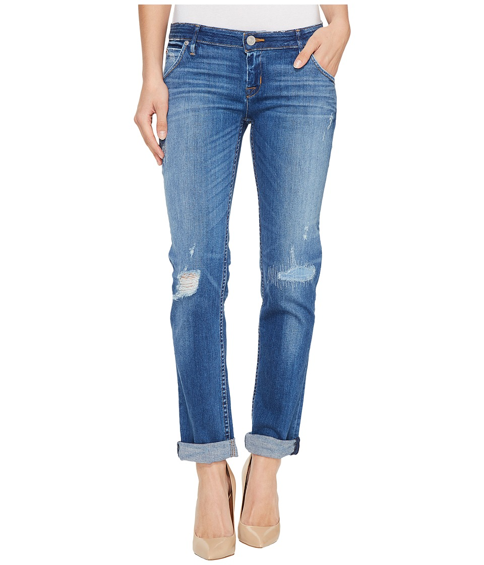 Hudson - Jax Boyfriend Skinny Flap Pocket Jeans in Chain Reaction (Chain Reaction) Women's Jeans